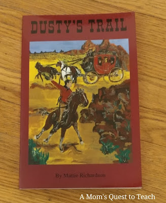 Dusty's Trail book cover