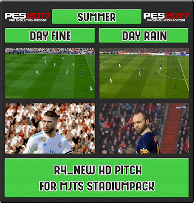 PES 2017 R4_HD PITCH For MjTS-140914 Stadium Pack
