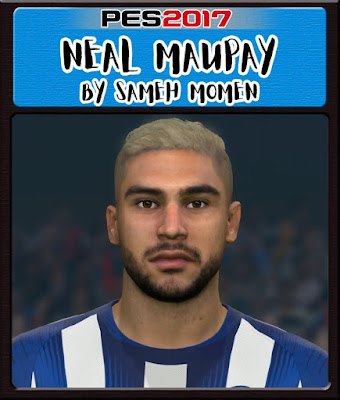 PES 2017 Neal Maupay Face by Sameh Momen