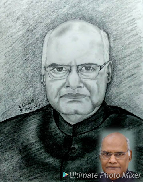 Honourable Mr Ram Nath Kovind is 14th President of India