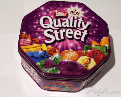 Fancy sweets tins can outlast the sweets and end up full of clutter