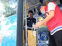 Cegah Penyebaran Corona, Pertamina Salurkan 250 L Antiseptik Untuk Trans Semarang
