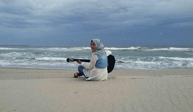 pantai mandiri pesisir barat lampung