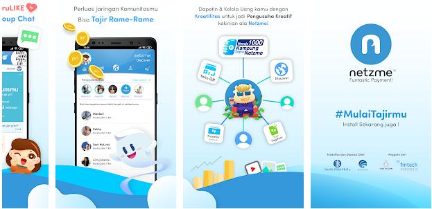 Aplikasi Netzme Android