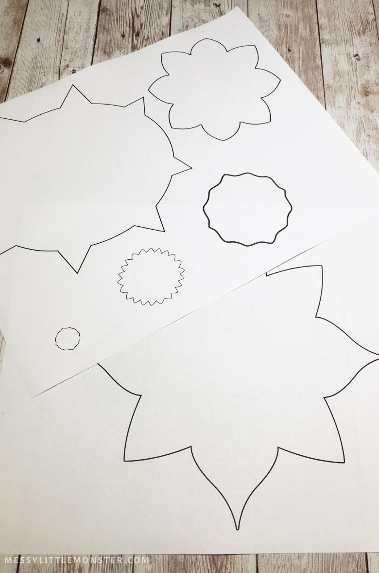 rangoli patterns printable template