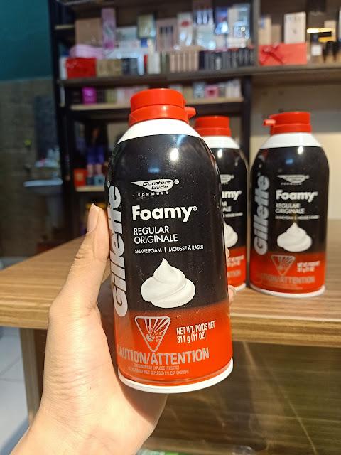 Bọt Cạo Râu Gillette Foamy