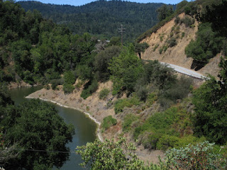 Soda Springs Canyon and Alma Bridge Road, Lexington Reservoir, Los Gatos, California