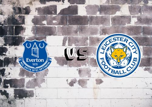 Everton vs Leicester City  Resumen