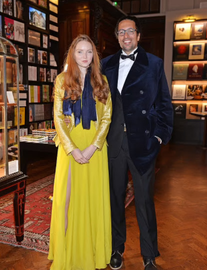 I'm not a straight person Married supermodel Lily Cole comes out as queer