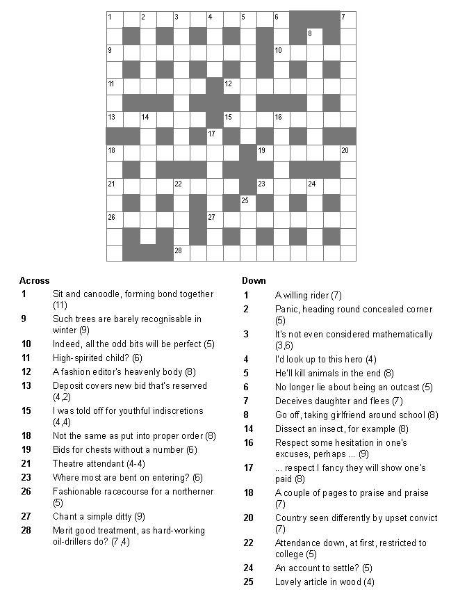 National Post Cryptic Crossword Forum Monday March 28 2016 Dt 27918 Bonus Puzzle