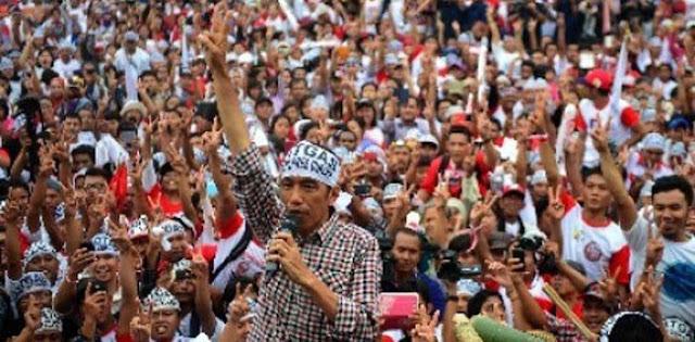 Relawan Jokowi Tarik Dukungan Karena Faktor Insentif Bukan Ideologis