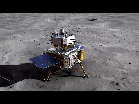 Chang'e-5 China Berhasil Mendarat Di Bulan Dengan Membawa Bongkahan Batu Dari Permukaan Bulan