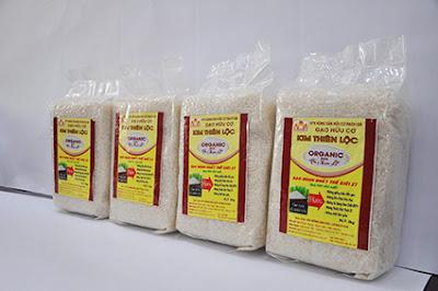 Gạo oganic st25 2kg