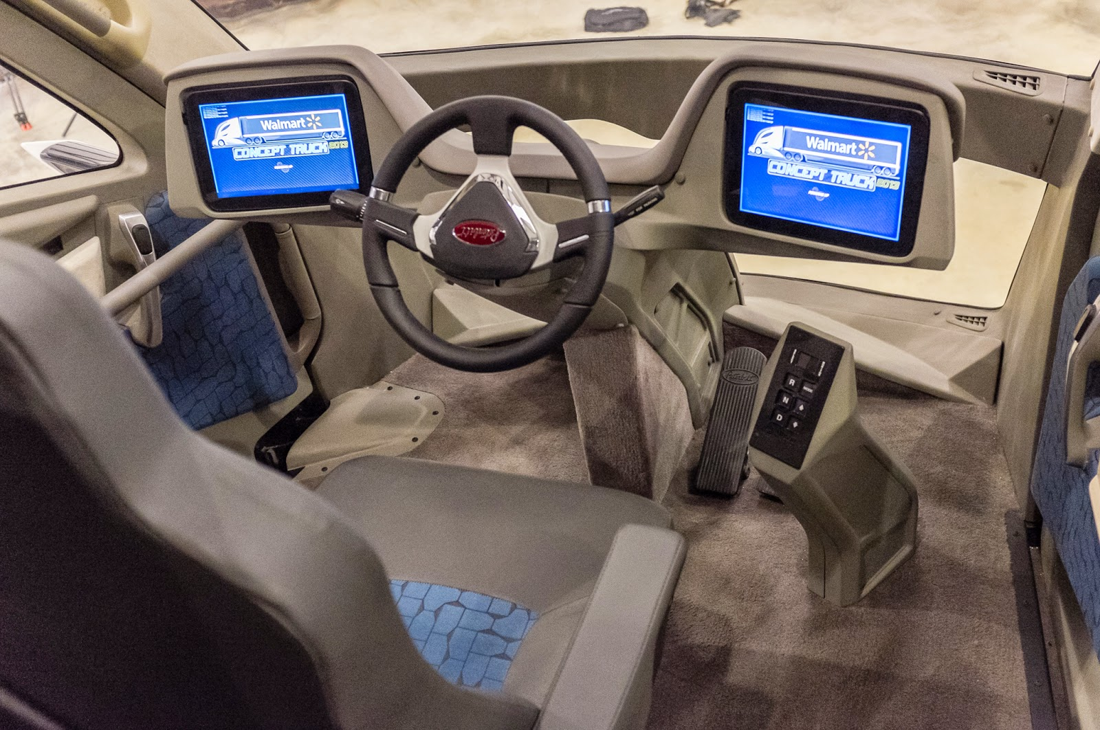 Interior View Of The Advanced Vehicle Experience Concept Truck Picture From Http Bit Ly 1b0kfjp