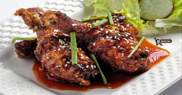 Pollo frito estilo Coreano