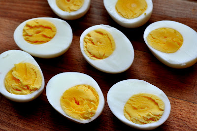 Hard-Boiled Eggs - Photo by Michelle Judd of Taste As You Go