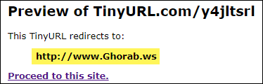 TinyURL Preview