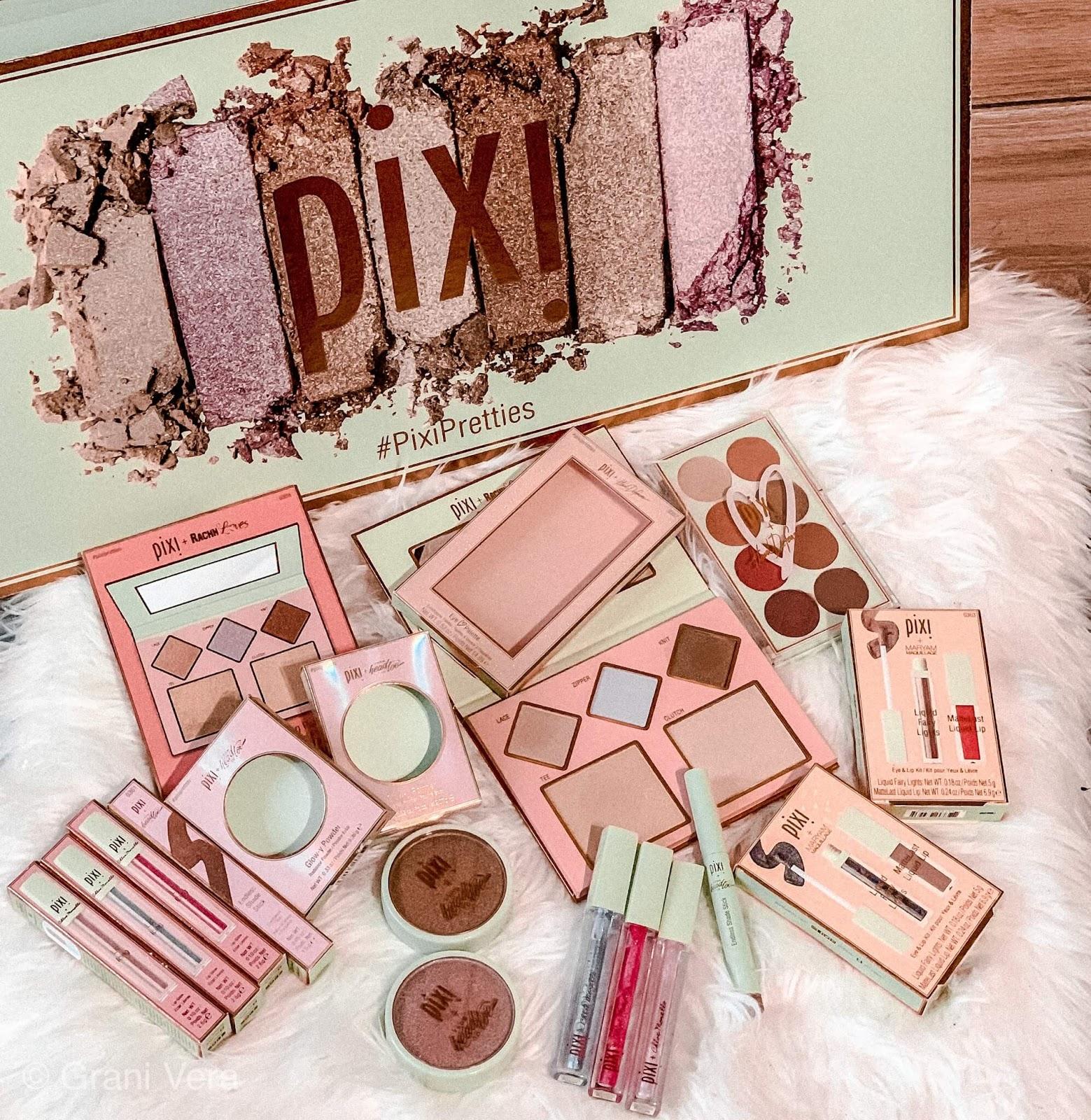 Pixi Pretties collection - swatche, dużo zdjęć i zapowiedz rozdania