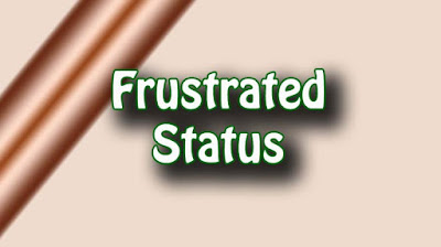 Frustrated Status