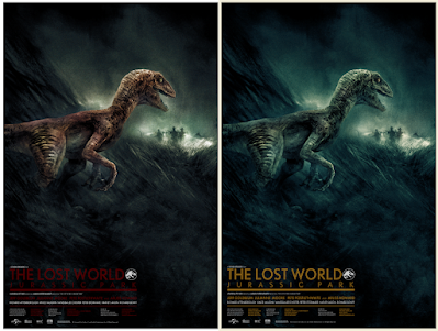 The Lost World: Jurassic Park Screen Print by Karl Fitzgerald x Bottleneck Gallery x Vice Press