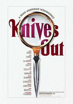 Rian Johnson's Knives Out (2019) movie poster