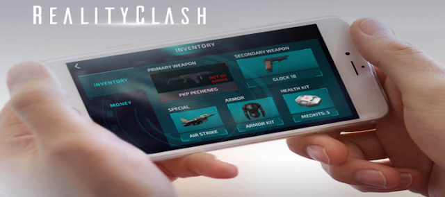 Reality Clash Game Augmented Reality Untuk Iphone Dan Android