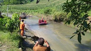 Sungai Lau Tuntungan Meluap, 9 Orang Terset, 1 Masih Dicari