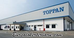 Lowongan Kerja Cikarang : PT Toppan Printing Indonesia - Operator Produksi