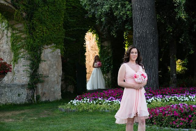 Wedding ceremony at giardini di Principessa Di Piemonte Ravello