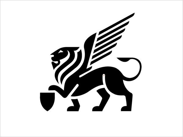 Contoh Desain Logo Negative Space - 29