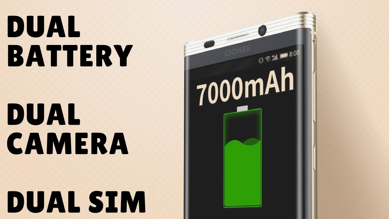 7000 mAh Battery In An Android Smartphone- Gionee M2017