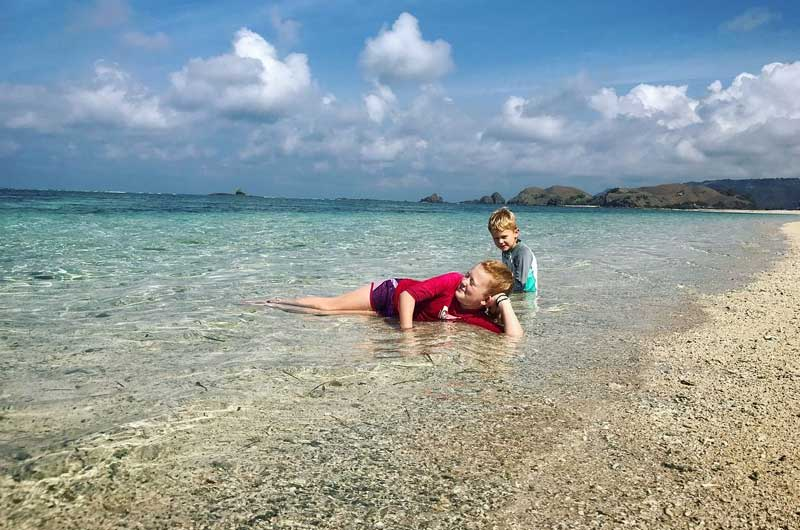 Pantai Serenting Lombok