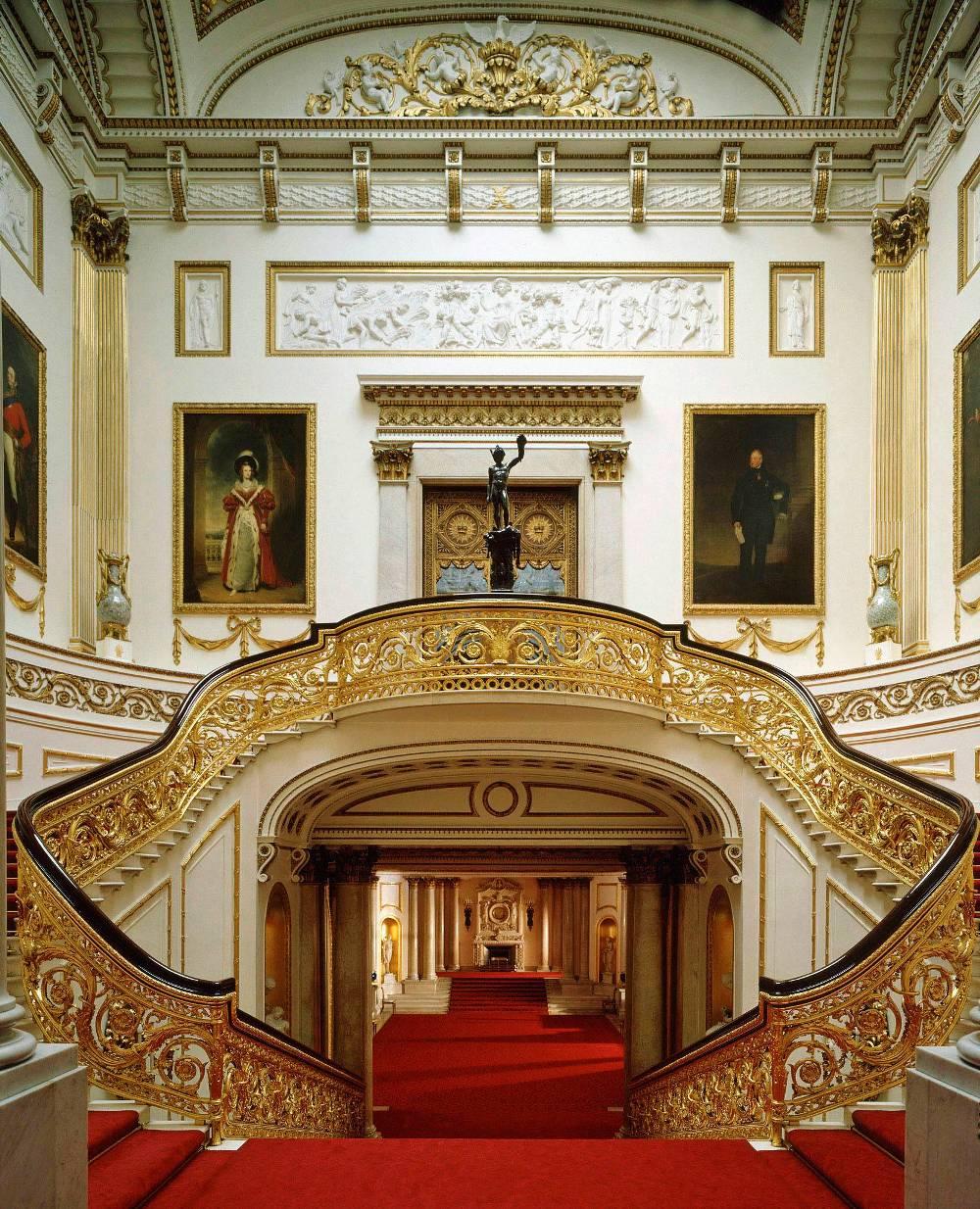 Bedroom Design Private Palace: World Visits: Buckingham Palace Beautiful Architects Design