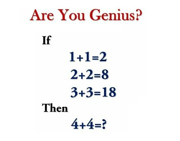 Math riddle for intelligent students during self-isolation