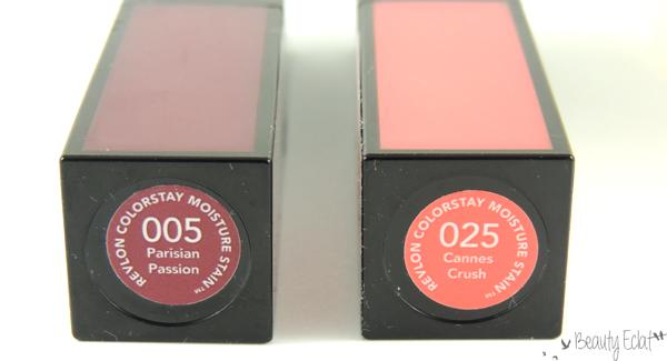 revue avis test revlon colorstay moisture stain