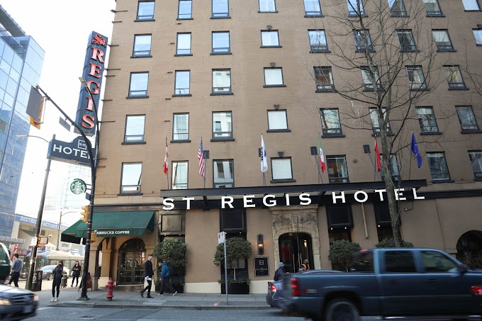 Checked in: St. Regis hotel, Vancouver