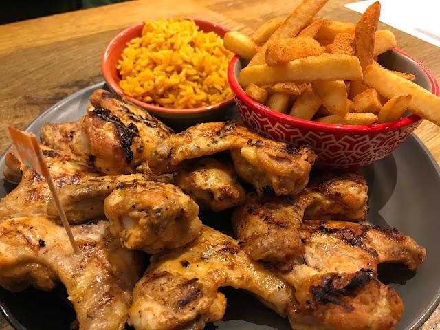 イギリス料理 チキン Nando`s