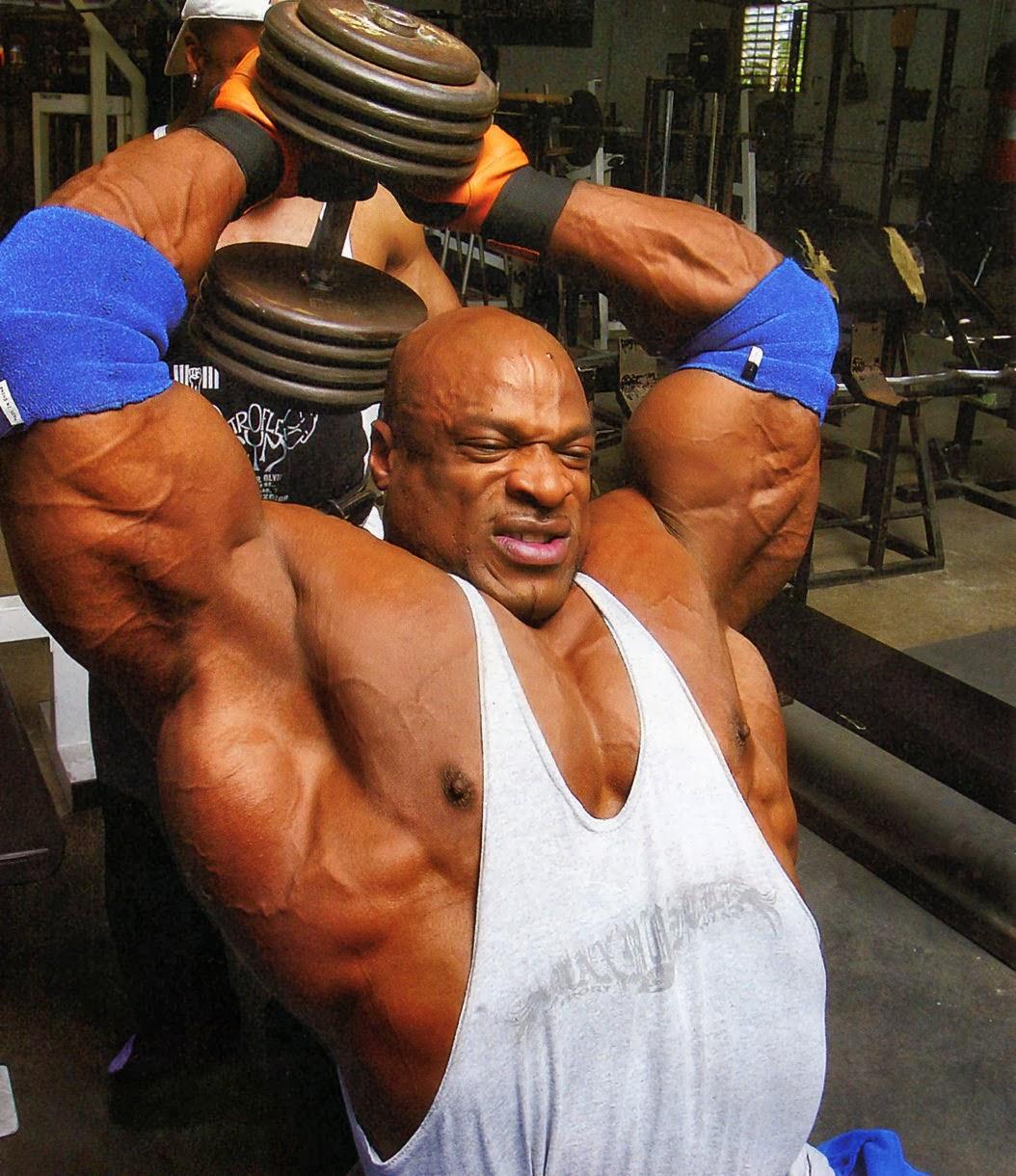 تمارين عضلات التراى رونى كولمان