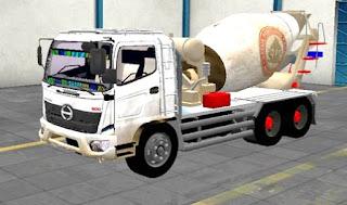 Mod Truck hino 500 molen Semen