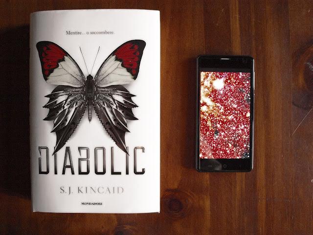 Diabolic di S.J. Kincaid copertina