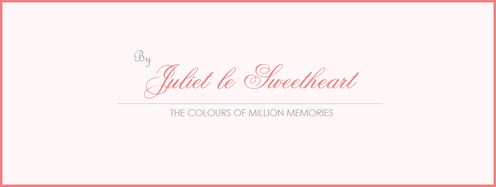 ✿ The Colours of Million Memories by Juliet le Sweetheart ✿