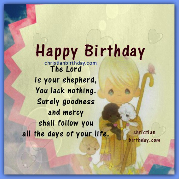 Birthday Greetings With Bible Verses And Images
