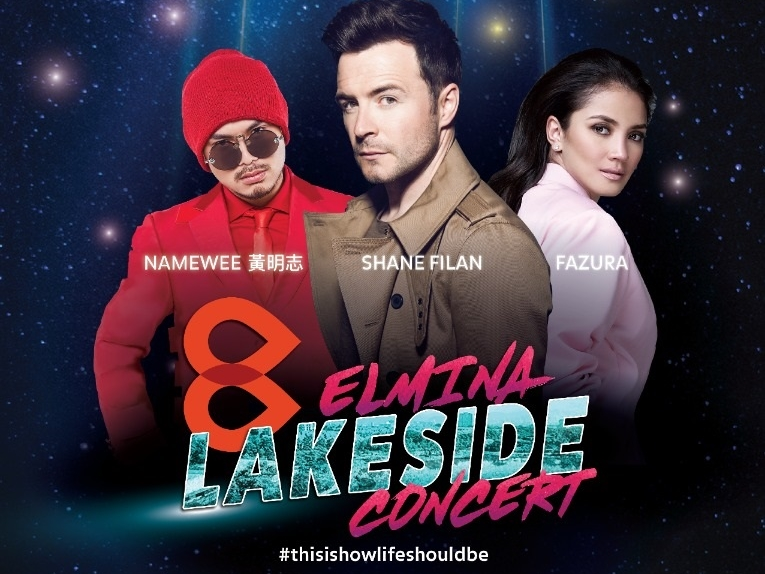 Namewee joins Fazura and Westlife's Shane Filan for lakeside