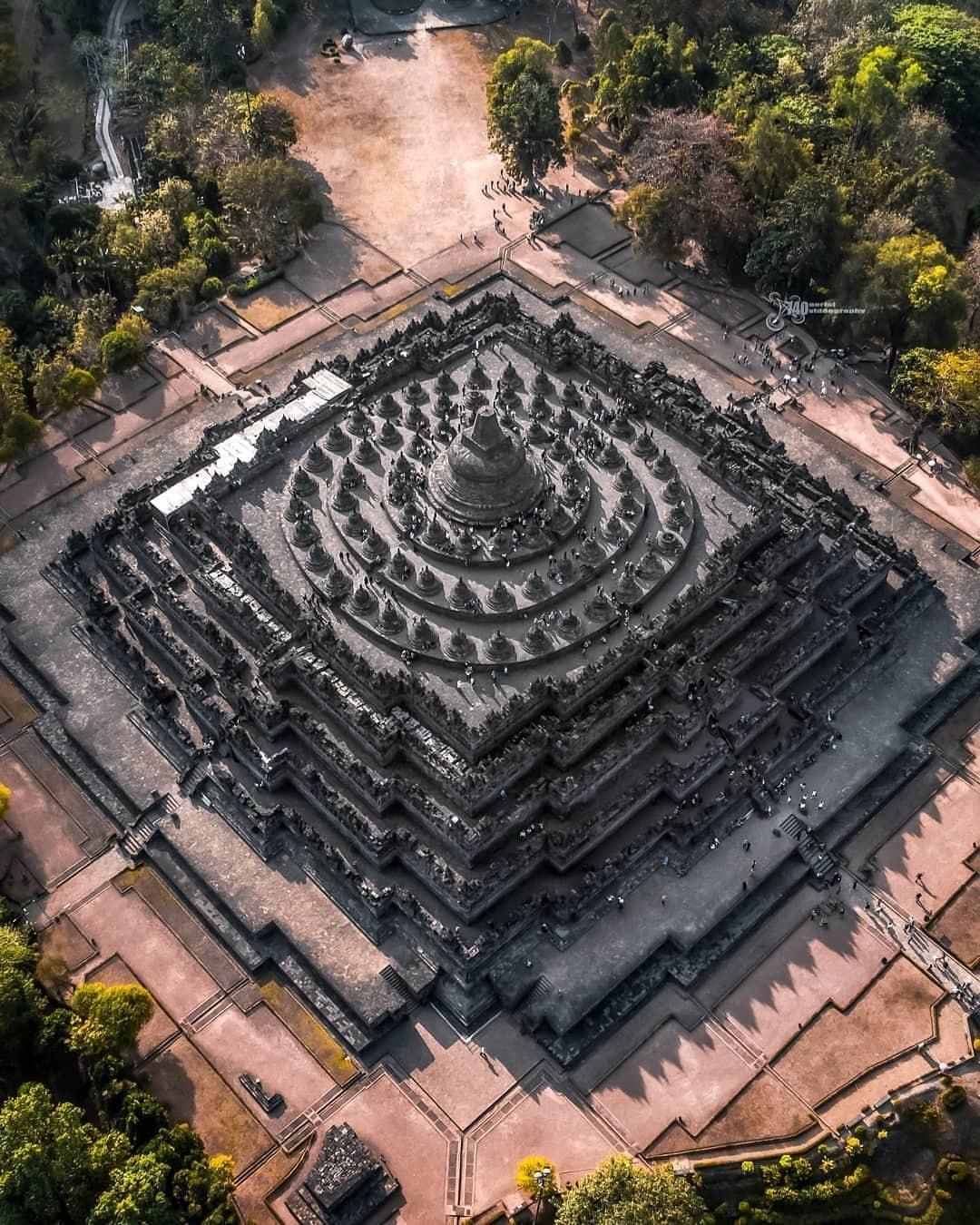 Deskripsi Candi Borobudur