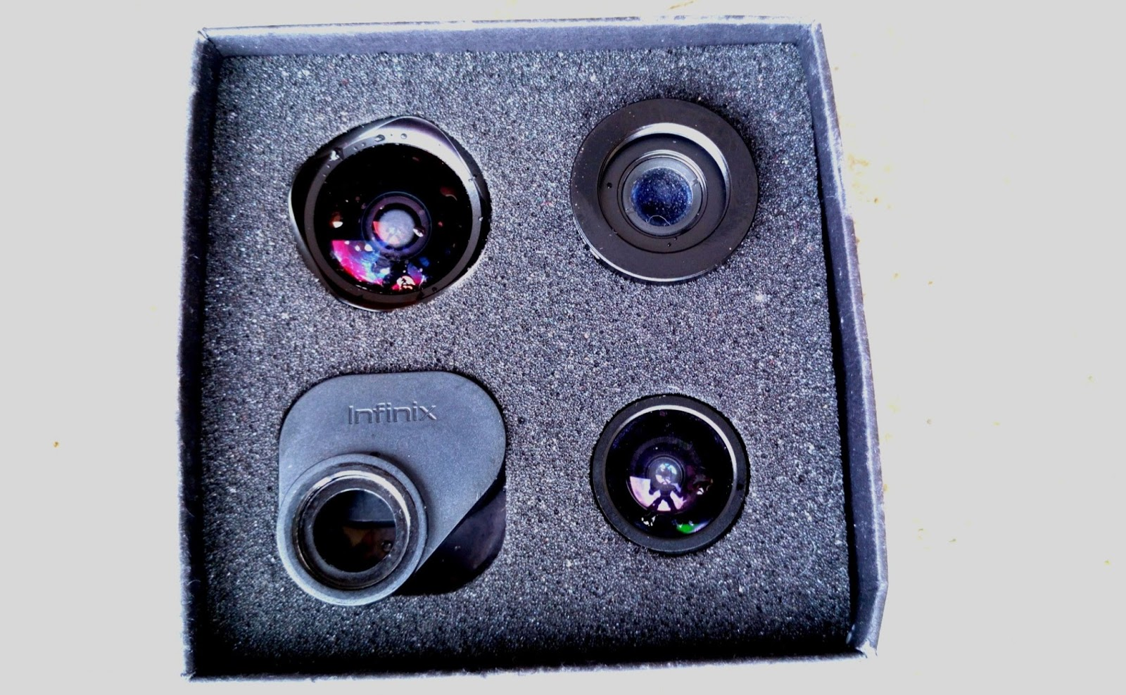 All X-Lens contained in the box