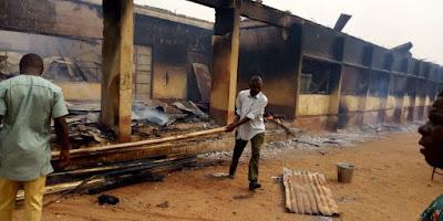 200 students stranded as fire razes Benue school