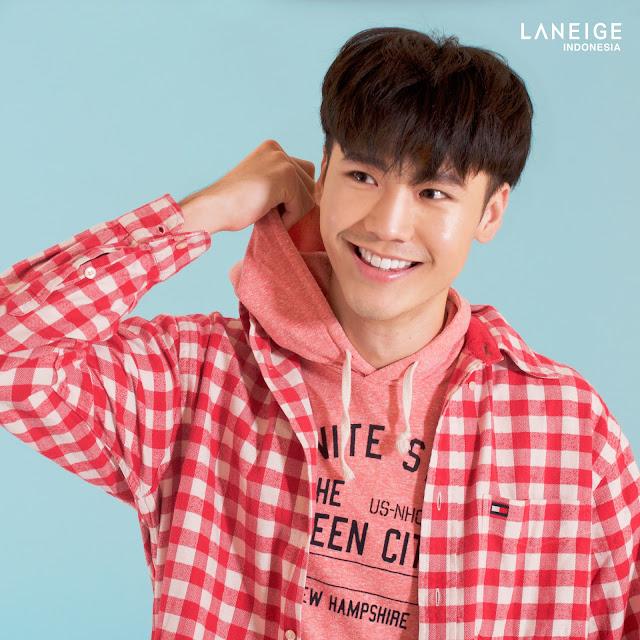 laneige korea indonesia haqi cahya han chandra korean model brand ambassador magazine fashion