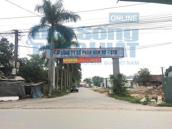 Công ty gốm sứ Thanh Hà của ông Nguyễn Đức Truyền bị tố gây ô nhiễm môi trường