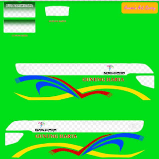 download livery gunung harta srikandi shd bussid