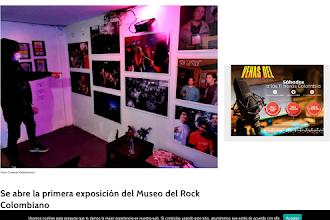 Se abre la primera exposición del Museo del Rock Colombiano.
